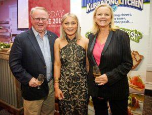 Lorna with Brucy Tyrell & Lyndey Milan
