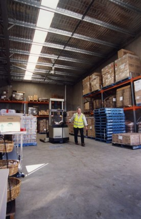 warehousing 2003
